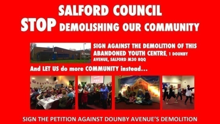 Petition  The Mayor Of Salford Salford Council Consult Winton