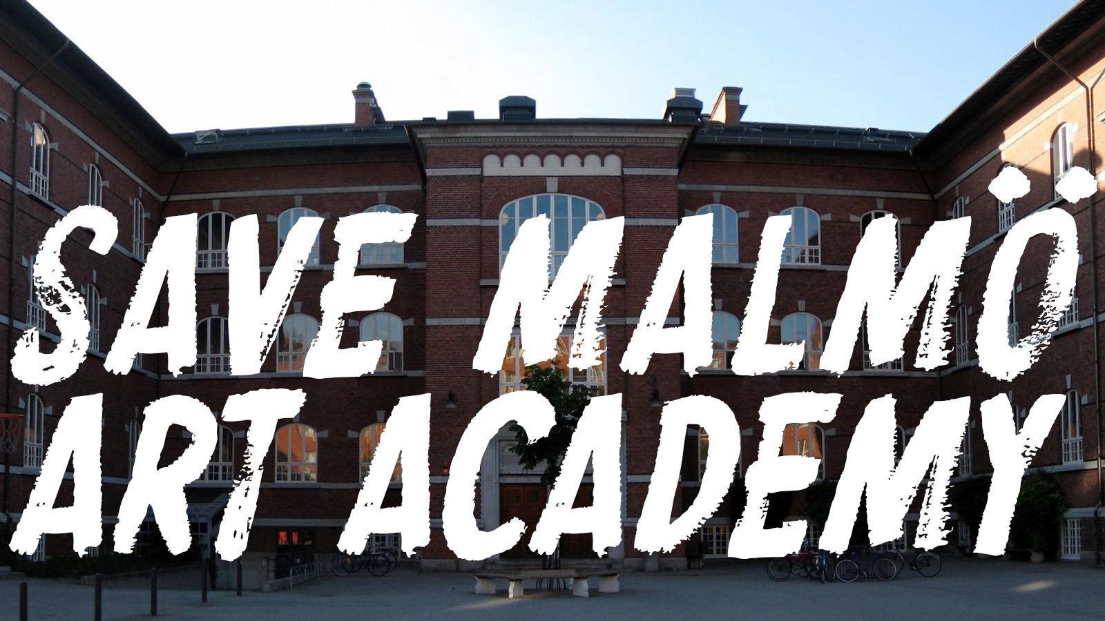 Petition malm stad save malm art academy for X change malmo mobilia