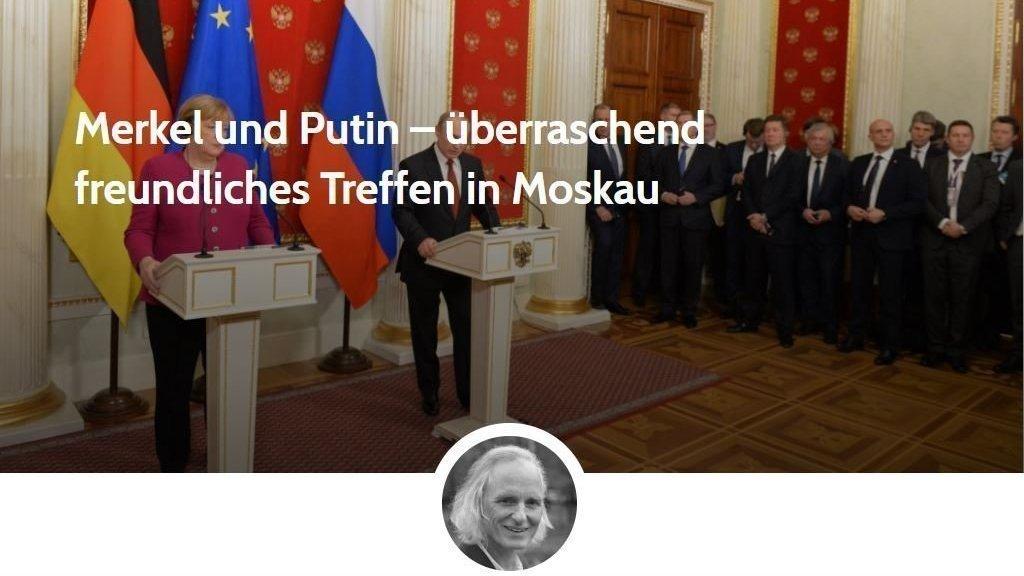 Merkel und Putin – überraschend freundliches Treffen in Moskau