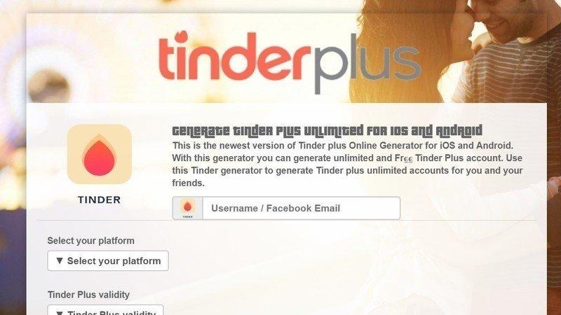 pétition tinder plus generator tinder plus hack gratuit free