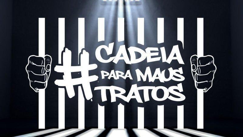 Abaixo-assinado · CADEIA PARA MAUS-TRATOS · Change.org