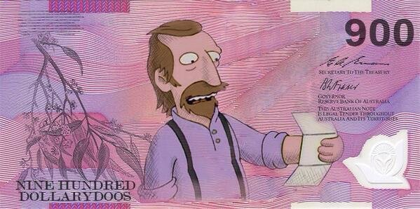 Change The Australian Currency Name Curly Dollars To Dollarydoos