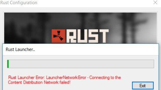 Kampanya · press@playrust com: Rust Eac Network Error