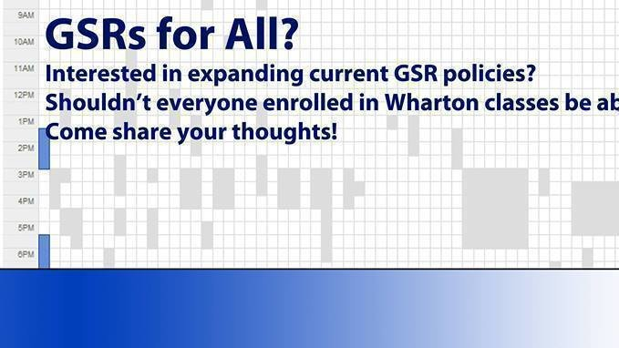 Petition · Expand the GSR policy! · Change org