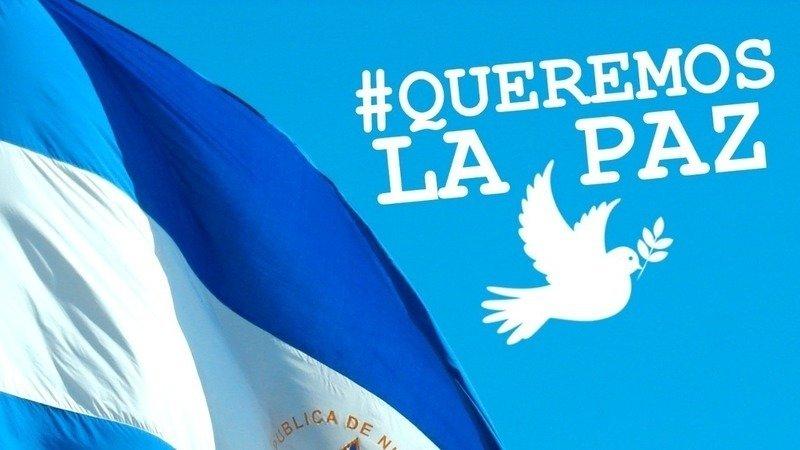 Resultado de imagen para Nicaragua:queremos la paz nicaragua