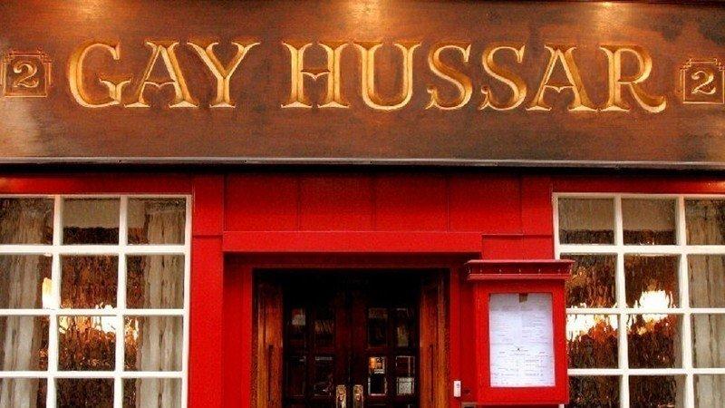 The gay hussar greek street