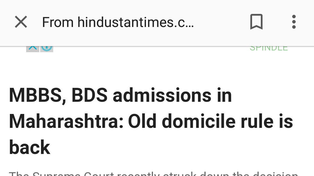 Petition Discontinue Domicile Requirement For Mbbs Bds Seats In