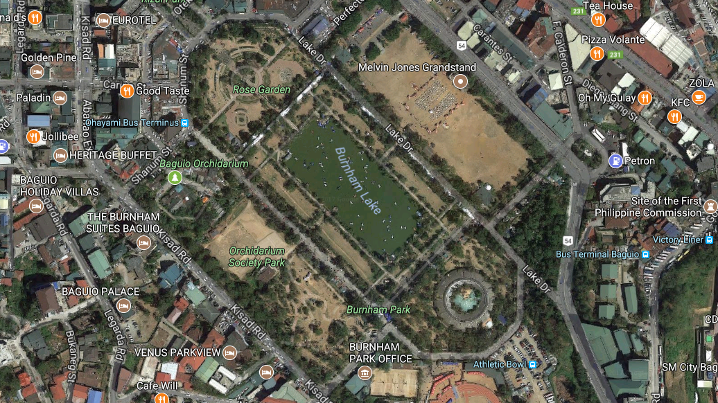 Burnham Park Map Petition · NO to Podium Car Park in Baguio's Burnham Park