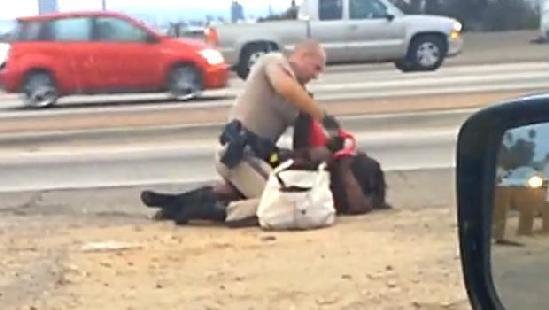 California highway patrol officers share naked photographs