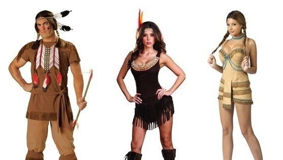remove racist native american costumes from your shelves