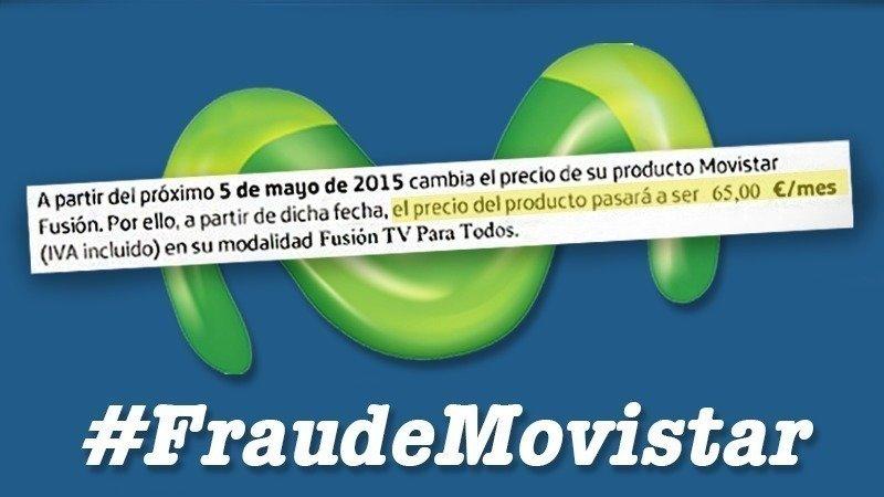 Petición · .@movistar_es: Movistar: deja de tomarnos el pelo y no ...