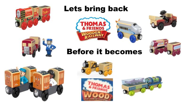 Petition Mattel Bring Back Thomas Wooden Railway Changeorg