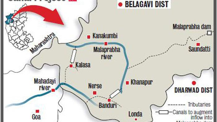 Image result for Kalasa Banduri Nala Project