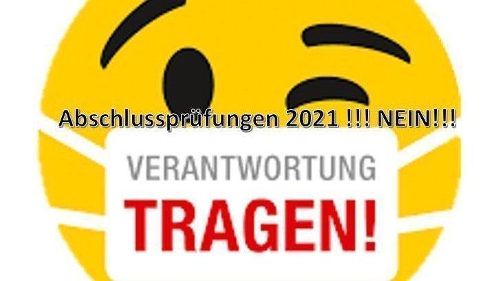 Abschlussprüfungen 2021