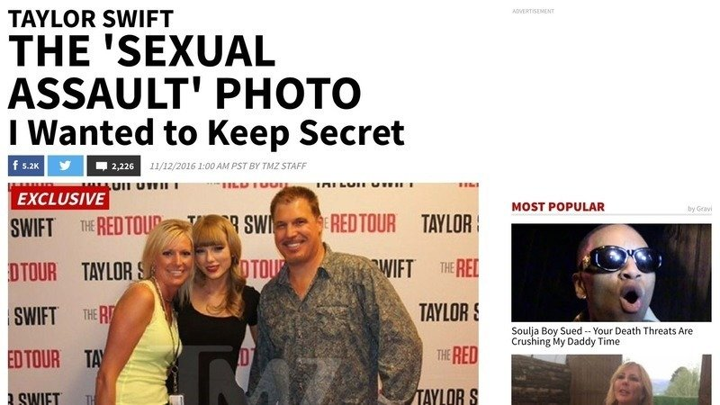 Petition Taylor Swift S Sexual Assault Lawsuit Case Photo Leaked By Tmz Let S Take It Down Change Org