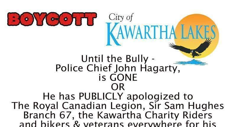 Petition · Have Police Chief John Hagarty removed from his