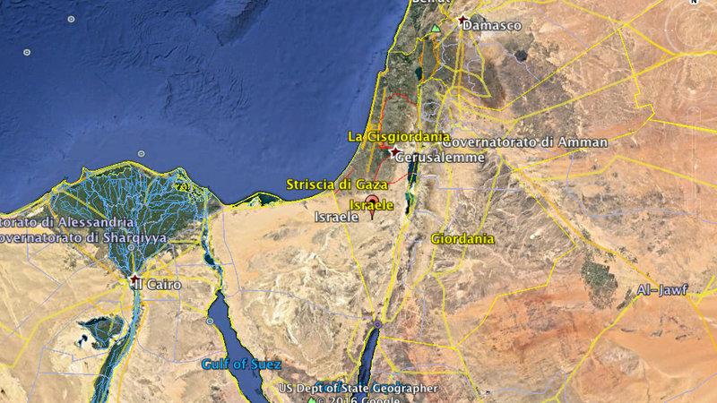 Cartina Geografica Della Palestina Di Oggi.Petizione Su Google Earth Non Esiste Lo Stato Della Palestina E Neanche La Regione Geografica Che Si Chiama Palestina Change Org