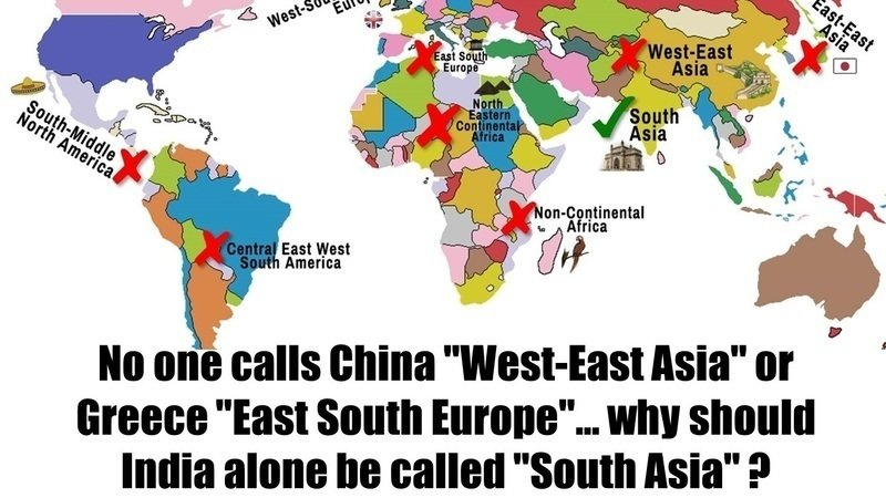 petition academia don t replace india with south asia in