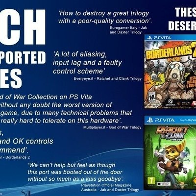 Petition · Patch PS Vita's Ported Games · Change org