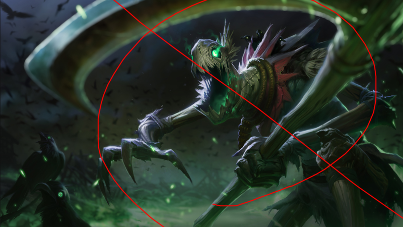 b2c729655c7f Petition · Remove Fiddlesticks from League of Legends (or rework him ...