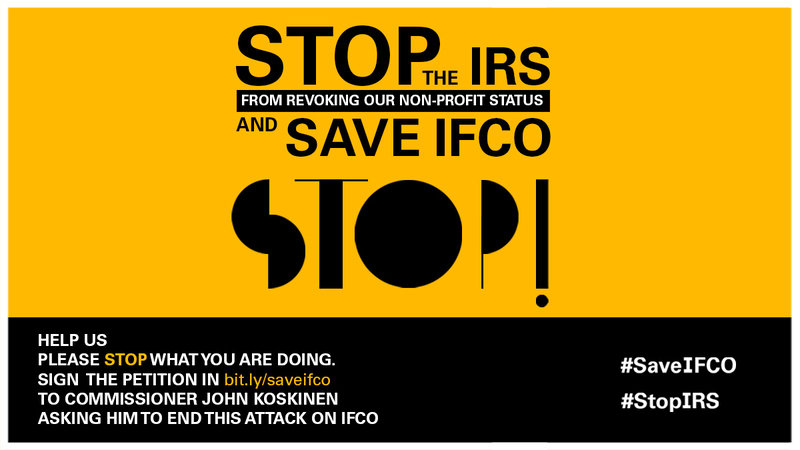 Petition: STOP the IRS and SAVE IFCO