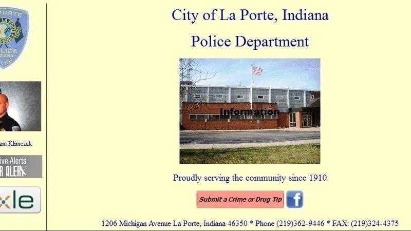 Petition chief adam klimczak fire christopher schoof for Laporte city police department