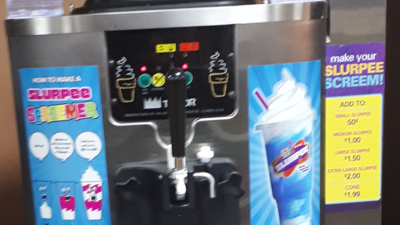 Put Soft Serve Ice Cream Machine In Campbell River 711 Locations