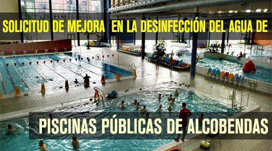 Petici n solicitud de mejora en la desinfecci n del agua for Piscina de alcobendas