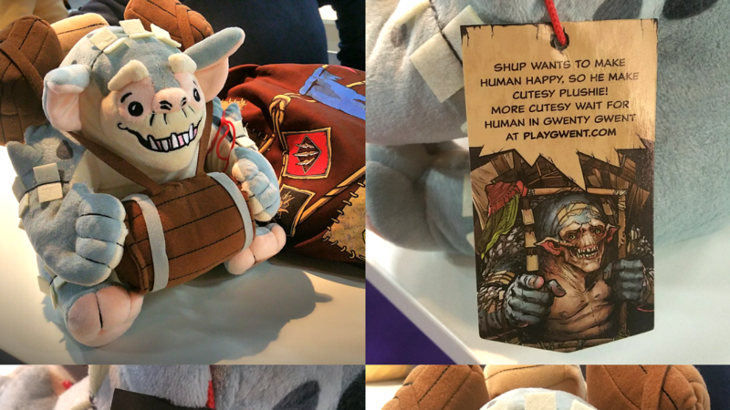 Make Shup The Troll Plushie An Official Gwent Merchandise Available For Purchase Worldwide