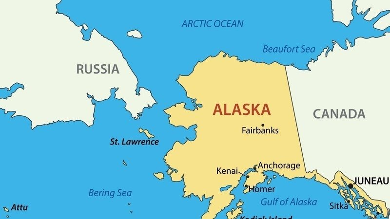 Petition HilaryTrump Listen Up USA Give Alaska To Canada - Map of alaska and canada