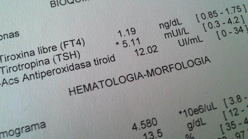 Tiroxina libre ft4 alta que significa
