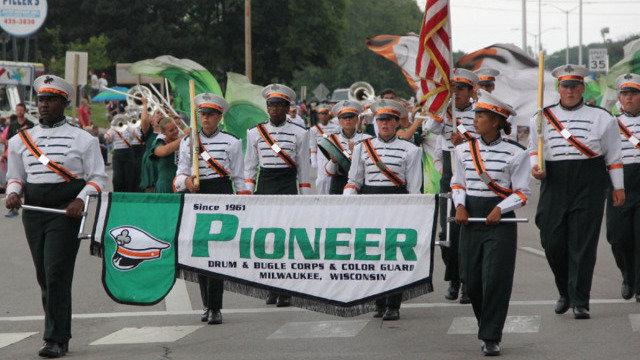 pioneer drum corps staff