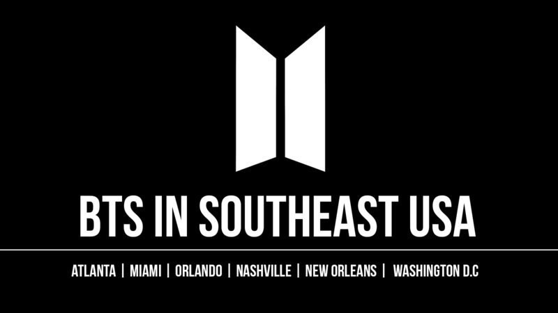 Petition · BTS CONCERT IN SOUTHEAST USA · Change org