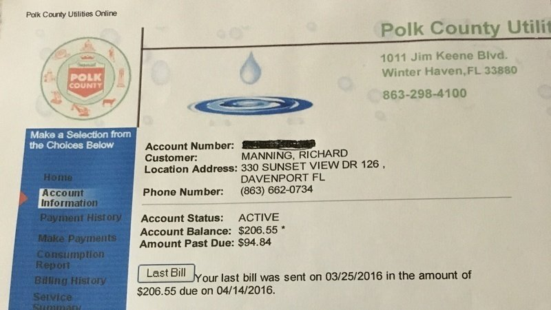 Petition · Kelli Stargel: Stop Sky High Water Bills from