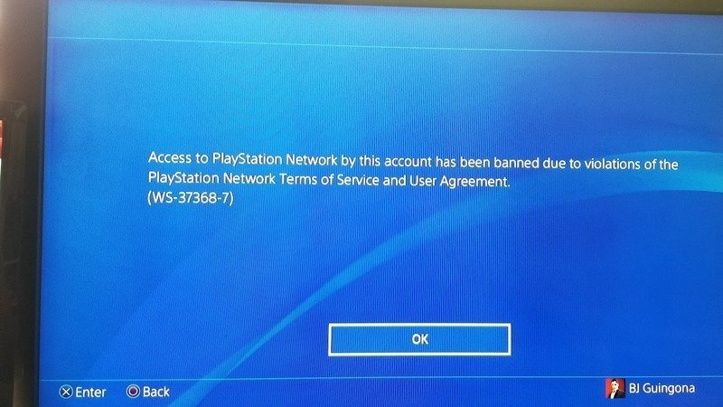 Petition · Wrongfully banned Playstation Network Account