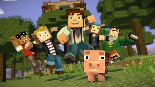 minecraft story mode episode 6 cast