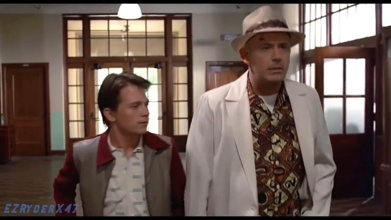 back to the future: tom holland robert downey jr