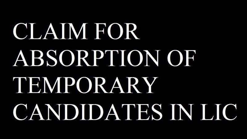 Petition absorption of temporary candidates in lic change absorption of temporary candidates in lic spiritdancerdesigns Gallery