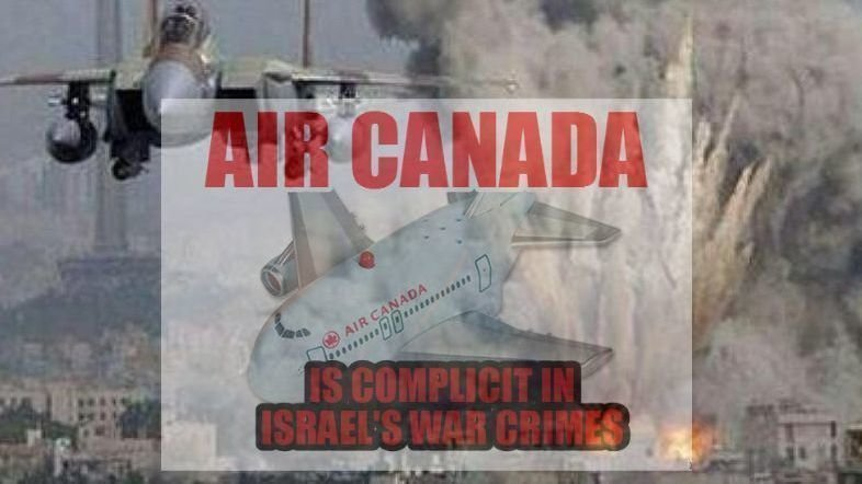 Calin Rovinescu: Tell Air Canada to end its Complicity in Israel's War Crimes