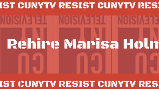 Petition · Burton Sacks: Re-Hire Marisa Holmes at CUNY TV