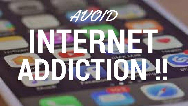how to avoid internet addiction