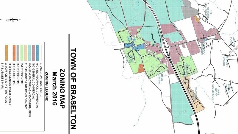 Petition Update Rezoning Application For Warehouses Submitted - Town of sweden zoning map