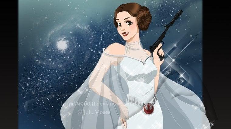 The Walt Disney Company: Make Leia an official Disney princess