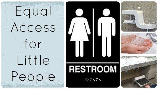 Public Restroom Step Stool