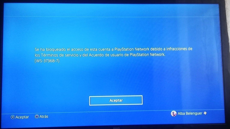 Petición Desbloqueen Mi Cuenta De Playstation Network Injustamente Baneada Change Org