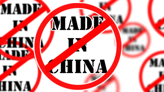 Petition · Political Parties: Boycott 'Made in China' products in ...