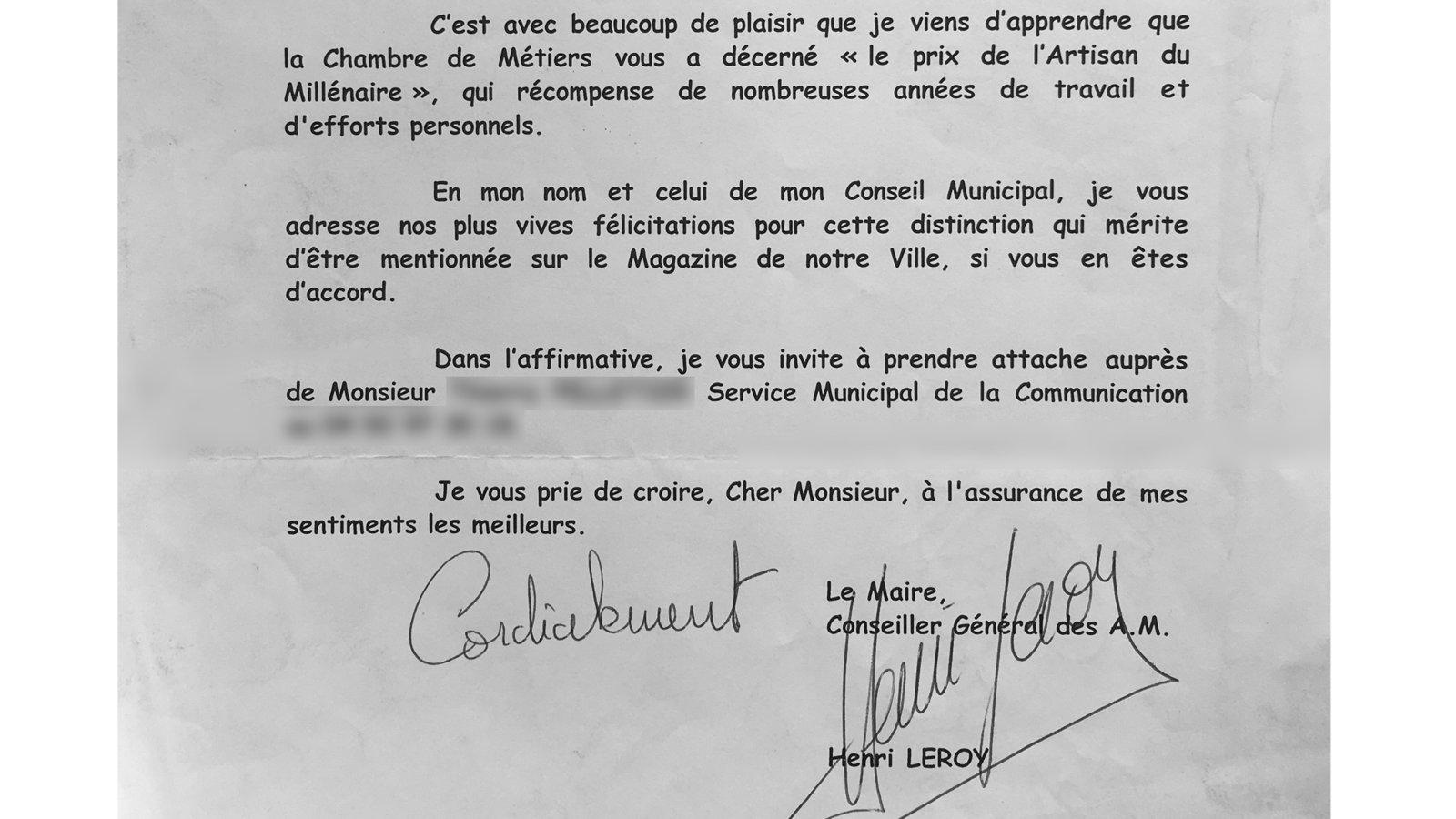 Ferronnier Dans Le Var petition update · pierre fait la une de nice-matin