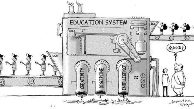a need for change on our educational system