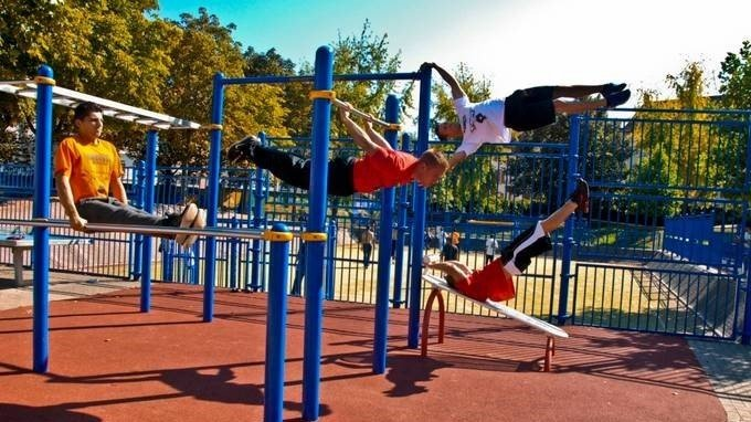 Build A Calisthenics Street Workout Gym At The Kingsway Sporting Complex