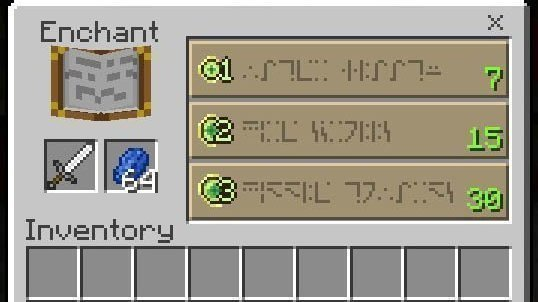 Petition Add Minecraft Enchantment Table Language To